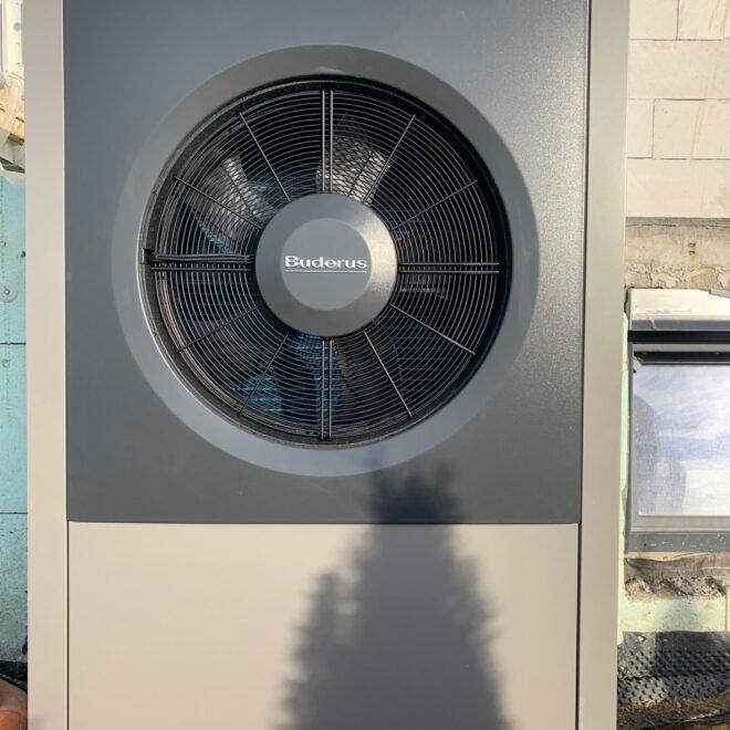 Pompa ciepła monoblok, montaż okolice Strzegomia