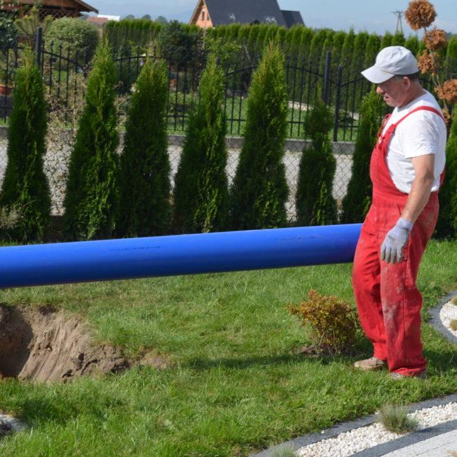 Gruntowy wymiennik ciepła w Wałbrzychu
